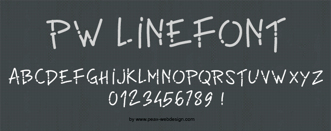 PW Linefont