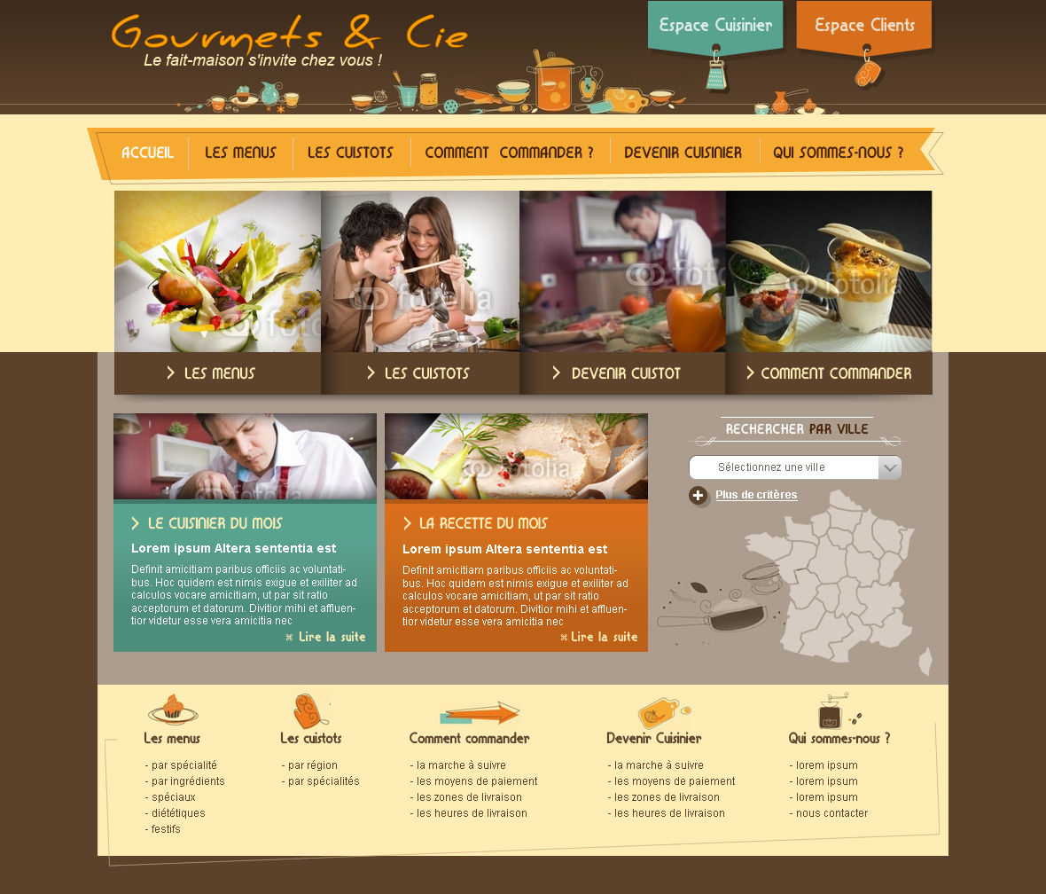 Creation site rencontre