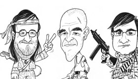 Caricatures Stade de France