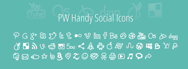 PW Handy Social Icons